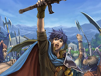 Ike wordt al snel de leider van de huur soldaten van Greil.