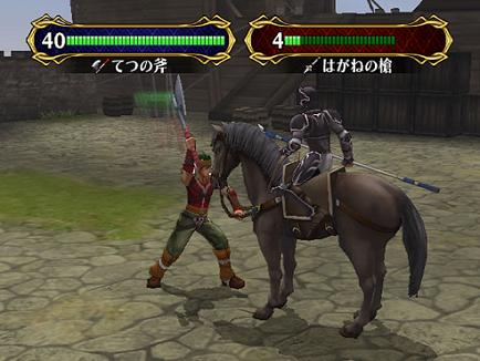 De gevechten worden door korte animaties weer gegeven (kan ook worden uitgezet).