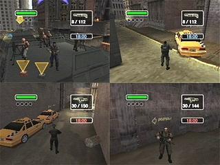 In Mutliplayer kan je tegen elkaar of met elkaar tegen de computer!