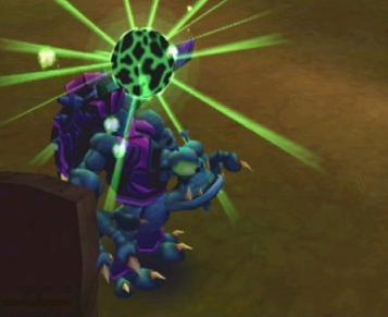Versla vreemde monsters zoals deze!