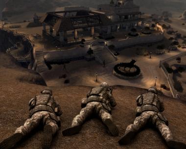 Vecht samen in een team van Amerikaanse Special Forces.