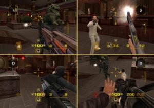 Ga met vier vrienden de strijd aan in de Multiplayer mode.