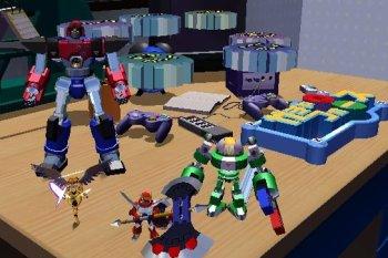 In Gotcha Force moet je de wereld redden met kleine robotjes.