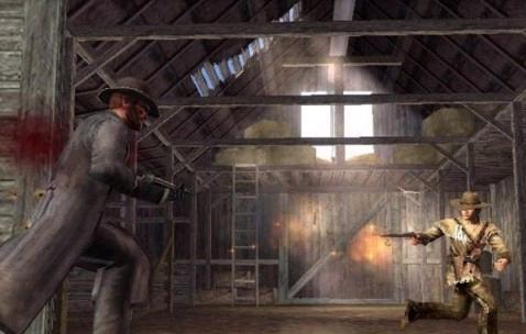 Versla je tegenstander met je revolver uh... gun, ja GUN!!