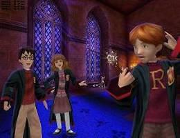 Harry, Ron en Hermelien zijn weer samen.