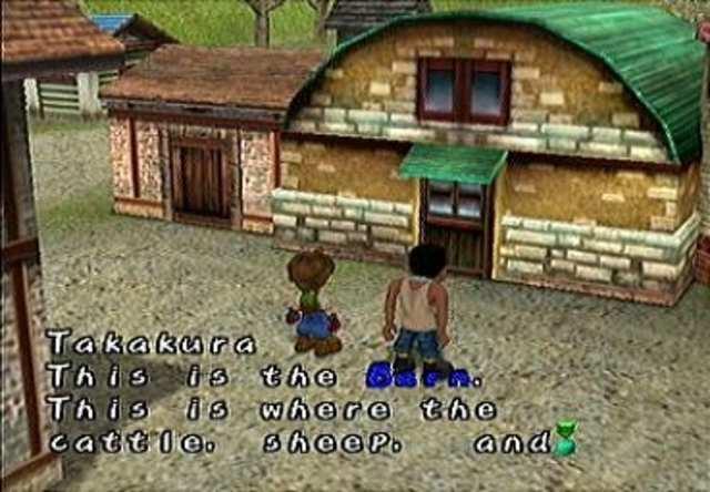 Je begint op de boerderij die je hebt gekregen, Takakura (een goede vriend van je vader) woont hier ook en helpt je met dingen.