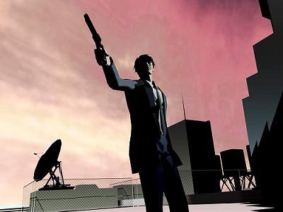 Killer 7 staat ook bekend vanwege hun aparte grafische stijl.