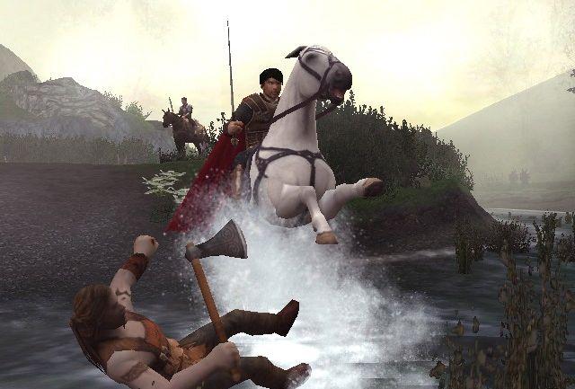 King arthur op het paard van sinterklaas!