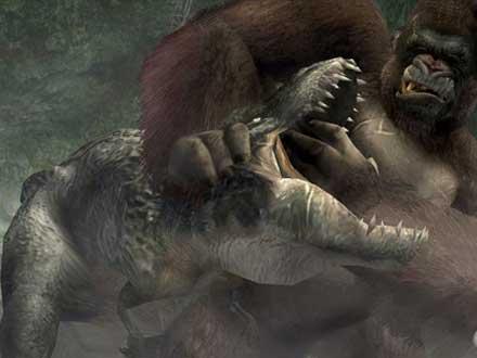 Tanden trekken in King Kong stijl.
