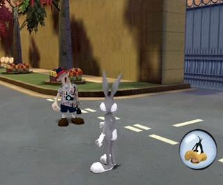 Speel als Bugs Bunny of Daffy Duck en stop de president van Acme die de wereld wil overnemen.