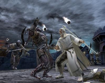 Gandalf  VS Ork