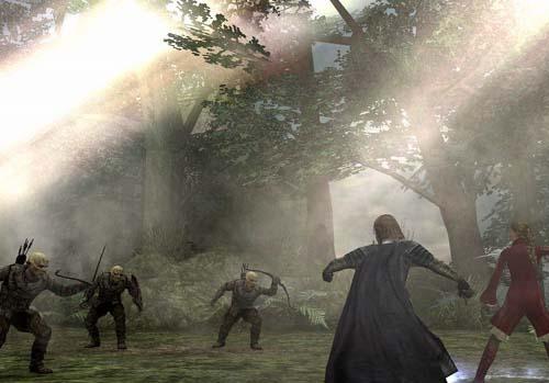 Prachtige vechtscènes in dit spannende spel.