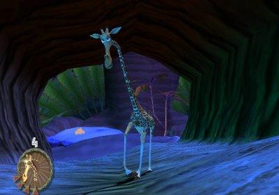 Melman bij het golfspel.