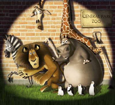 De dieren in Central Park Zoo willen terug naar de wildernis.
