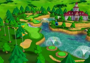 Je speelt op hele mooie golfbanen.