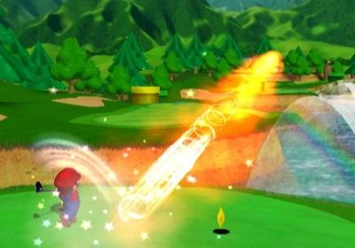 De powerslag van Mario!