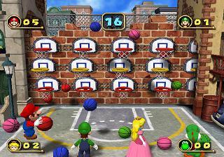 Basketbal! Gelukkig dit keer niet met bommen (zoals bij vorige delen).
