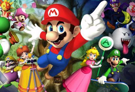 De Mario Party 6 characters