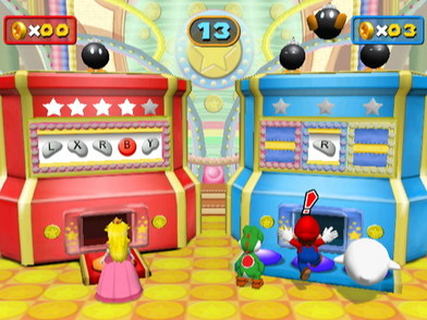 GameCube spelinfo: Mario Party 7