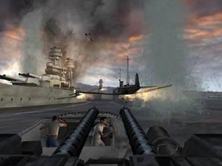 Verwoest de Japanse vliegtuigen en verdedig de vloot bij Pearl Harbor.