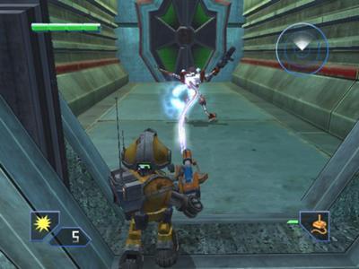 Glitch neemt een vijand over, nadat dat gelukt is valt hij uit elkaar en speel je door met deze Robot. De vijanden herkennen je pas als je ze aanvalt dus op deze manier kun je makkelijk schakelaren in vijandelijk gebied omzetten. Als de overgenomen Robot wordt neergeschoten ga je weer verder als Glitch.
