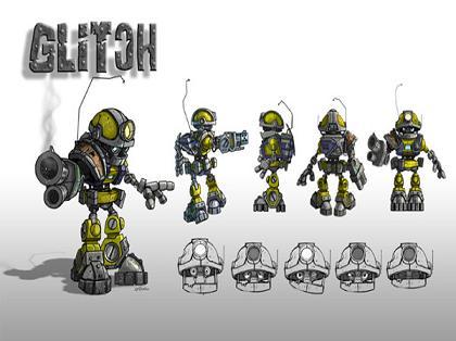 Je speelt in dit spel met Glitch, hij werd gevonden op een afvalberg en weer in elkaar gezet zodat hij kan helpen in het gevecht tegen de ´´Mill´s´´ (de slechte robots)  van General Corrosive.