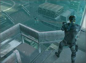 De wapens zijn in deze remake van de eerste Metal Gear Sollid uit 1998 niet erg veranderd. De enige extra wapens zijn: M9 tranquilizer pistool en de PSG1-T sniper rifle.