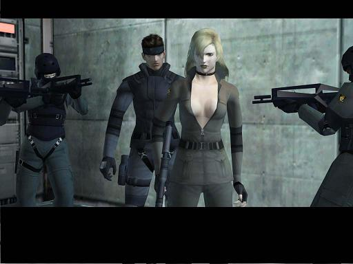Metal gear zit vol van de.... uhhh... mooie personages