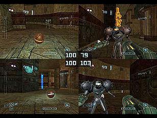 Dit is de eerste Metroid game met multiplayer! En niet de laatste.