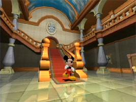 Mickey Mouse Magical Mirror is een `point en click` spel, erg geschikt voor jonge kinderen!