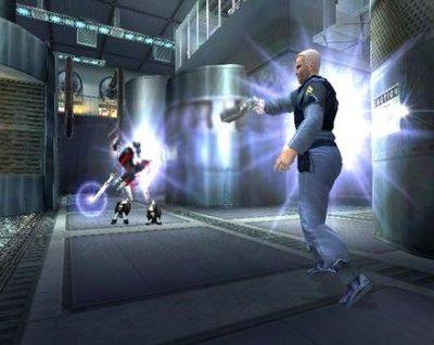 Dit spel heeft ook veel sci-fi wapens!