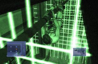 Wat veel lasers, raak er geen aan!