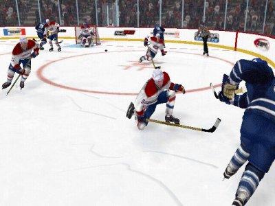 IJshockey is een snel spel, je moet letten op alles!