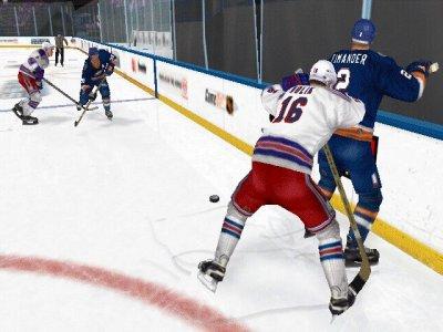 IJshockey is een harde sport, vechten is zelfs toegestaan!