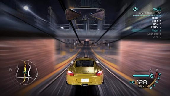 Je kunt zelfs racen met gouden auto`s!