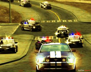 In Need For Speed Most Wanted heb je spannende achtervolgingen.