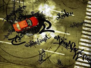 Kunst maken met je auto!