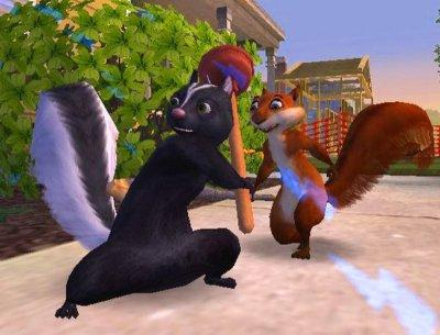 Hammy de hyper eekhoorn en Stella het stinkdier!
