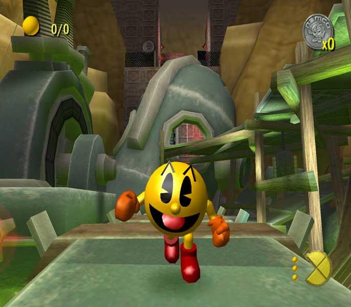 Pacman was ooit de koning van de speelhal! Nu is hij in 3D een stuk mooier!