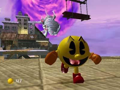 Pacman ziet er fantastisch uit in 3D!