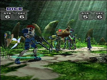 Phantasy Star Online Episode III is een leuke cardgame.