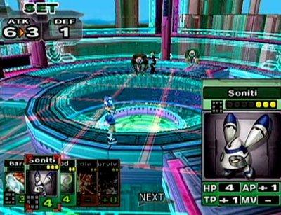 Het turn-base gevecht vindt plaats op een soort van schaakbord. De kaarten zijn de voorwerpen (wapens, armor, etc) die je kunt gebruiken om je character sterker te maken.