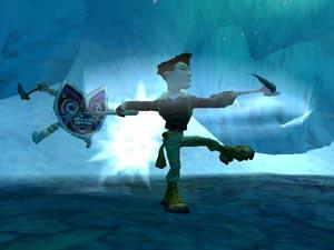 Dit spel kent verschillende werelden zelfs ijsgrotten!