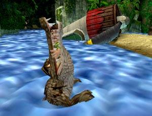 AU! Kijk uit voor de krokodillen!