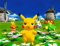 Speel met je pokemon en maak hem blij