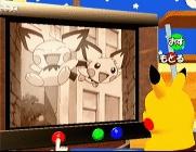 Kijk tv met Pikachu. Je kunt delen uit de serie zien, maar bekijk ook zenders die echt met het spel te maken hebben; zoals Squirtle`s TV Shop.
