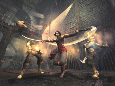 Geen zand meer verzamelen in Warrior Within. Nieuwe aanvallen geven de mogelijkheid meerdere vijanden tegelijk te verslaan. Slash slash hakaa!