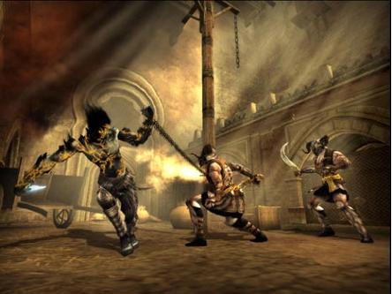 Bij de Dark Prince wordt de ketting gebruikt, als tweede handwapen welke enorme schade toebrengt aan vijanden.