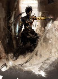 De prince is tijdelijk getransformeerd tot de Dark Prince.