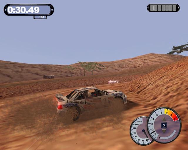 Lekker rally-en in de woestijn! Wroem wroem... Niet verdwalen hoor!!